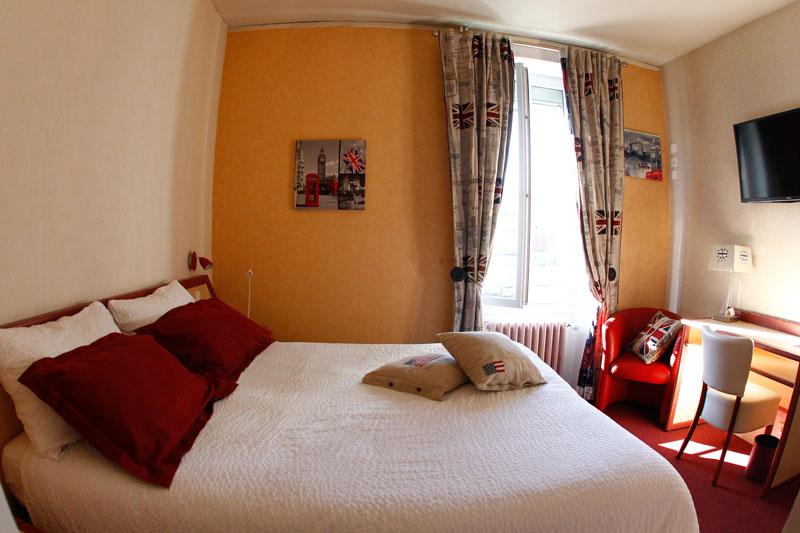 Chambres - Hôtel Gambetta à Lons-le-Saunier